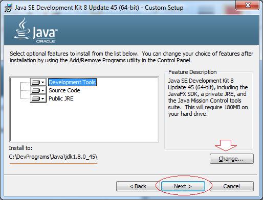 Версия Java 8 и Java 8