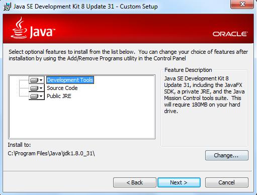 Выбор версии Java для Windows 7
